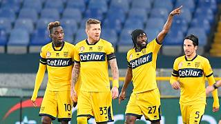 Ivorian international Gervinho inspire Parma win