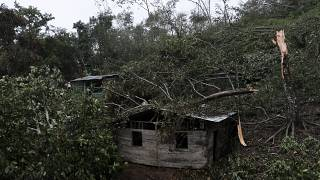 Residents of hurricane-battered community in Nicaragua rebuild homes