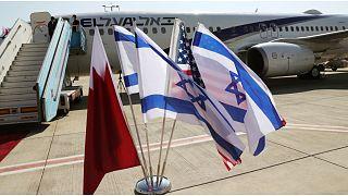 وفد بحريني رفيع المستوى يصل إسرائيل