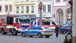 محل حادثه در شهر تریر آلمان