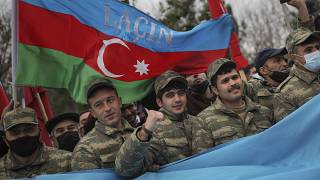 Aghjabadi, Azerbaijan, Tuesday, Dec. 1, 2020. (AP Photo/Emrah Gurel)
