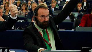 یوزف سایر در پارلمان اروپا