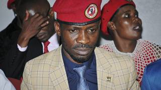 Uganda's Bobi Wine suspends campaigns after team injuries