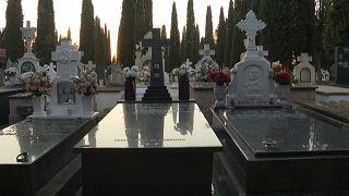 Imagen del cementerio de Tomelloso, en Ciudad Real