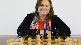 Weltklasse-Schachspielerin Judit Polgar aus Ungarn, im Jahr 2018