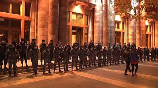 Акция протеста с требованием отставки премьер-министра Армении