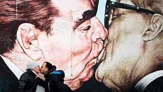Brezhnev and Honecker
