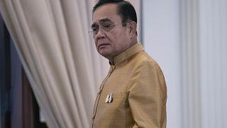 رئيس الوزراء التايلندي برايوت شان أوشا في مقر الحكومة في بانكوك. 2020/12/01