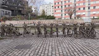 Bikes fished out of canal