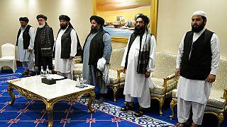 Taliban'ın barış müzakere ekibi, Doha, 21 Kasım 2020