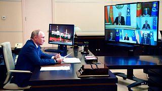 نشست مجازی سازمان پیمان امنیت جمعی