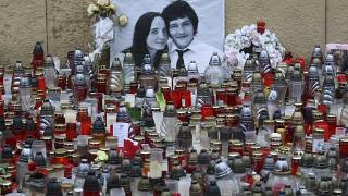 Investigative journalist Jan Kuciak and his fiancee Martina Kusnirova were killed in February 2018.