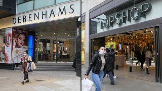 سكان لندن يتدافعون إلى المحلات التجارية للتبضع في موسم أعياد الميلاد