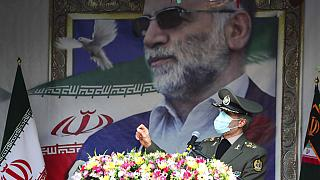 Suikaste uğrayan Fahrizade'nin cenaze töreni
