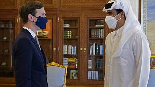 جاريد كوشنر وأمير قطر