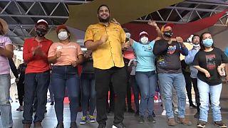 Nicolás Maduro Guerra, candidato a diputado por La Guaira
