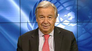 """Guterres: """"La lotta al riscaldamento globale, un fallimento suicida"""""""