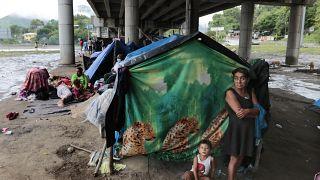 Nach den Wirbelstürmen Eta und Iota, Honduras