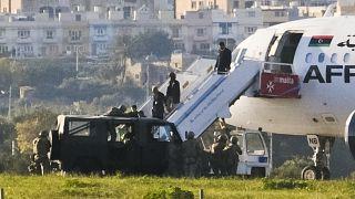 23 Aralık 2016'da Trablus'a doğru giden uçak kaçırılarak Malta'ya indirilmişti