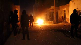 Clashes rock eastern Tunisia as police battles angry football fans