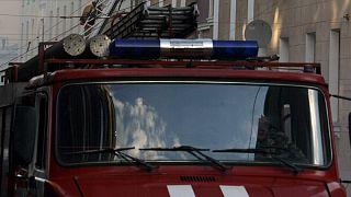 Пожарная служба Москвы 2003 г.