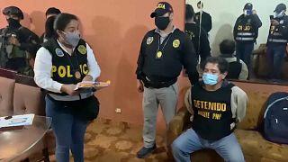 Presunto miembro de Sendero Luminoso detenido en la operación policial