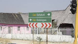 B1/C46 Kreuzung Mandume Ndemufayo Street in Ongwediva, Namibia