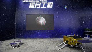 """القمر الصناعي الصيني """"شانغي 5"""" على سطح القمر"""