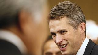 Britain's Secretary of Education Gavin Williamson.