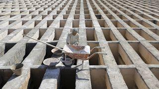 مقبرة في إيران مخصصة لوفيات فيروس كورونا