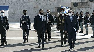 Από την επίσκεψη του Προέδρου της Αίγυπτου στην Ελλάδα