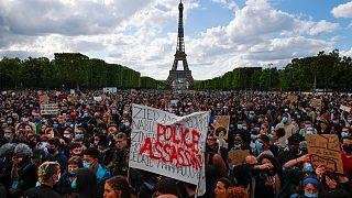 تظاهرات مخالفان قانون جامع امنیتی