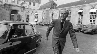 Valéry Giscard d'Estaing à Paris, le 8 avril 1974.