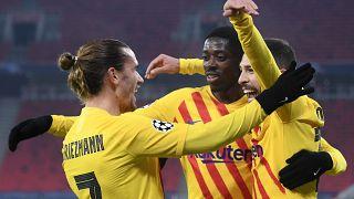 Barcelona Futbol Kulübü oyuncuları