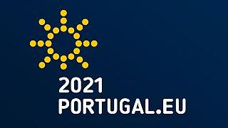 Logotipo da Presidência portuguesa da UE