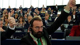 Fotografía de archivo de József Szájer, antes de su dimisión como eurodiputado