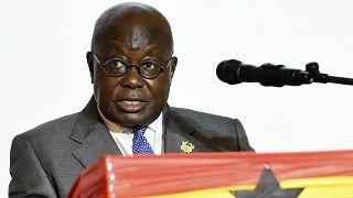 Le président ghanéen Nana Akufo-Addo brigue un second mandat