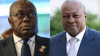 Old rivals: Akuffo-Addo, Mahama face off in Ghana's election - for the third time