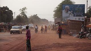 مدينة بانعي ـ جمهورية إفريقيا الوسطى. 2015/11/25