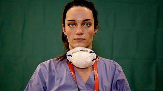 مارتینا پاپونتی، پرستار ایتالیایی در اوج بحران کرونا
