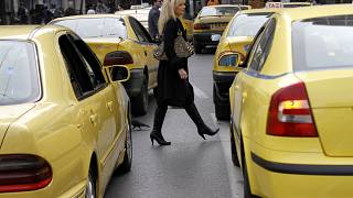 Taxis in Griechenland - Symbolbild -
