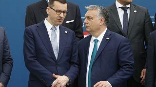 ماتئوش موراویهتسکی و ویکتور اوربان-فوریه ۲۰۲۰