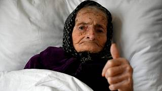 پیرزن ۹۹ ساله اهل کرواسی