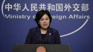 Chinese Foreign Ministry spokeswoman Hua Chunying criticised unnamed Danish politicians during a press briefing on Friday.