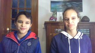 Ativistas André e Sofia Oliveira