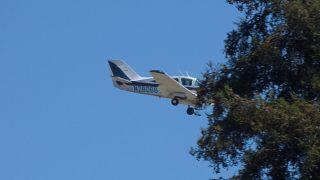 Kazaya karışan Bellanca Viking model uçaktan bir kare.