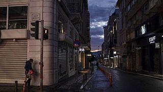 Άδειο το κέντρο της Αθήνας