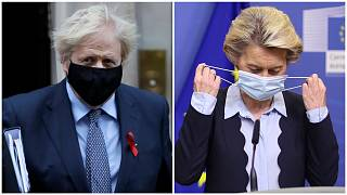 Boris Johnson and Ursula von der Leyen are set to talk after Brexit negotiations once again came to a standstill