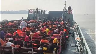 Bangladesh ships Rohingya to controversial island