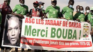 State tribute for late Senegalese footballer Bouba Papa Diop